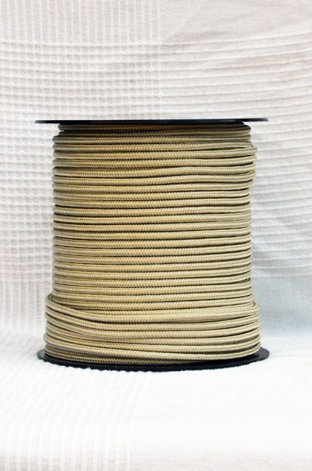 Sand Ø5 mm pre-stretched rope for djembe drum - Djembe rope