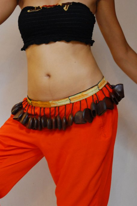 African dance belt - Small Ghanajuju dance belt