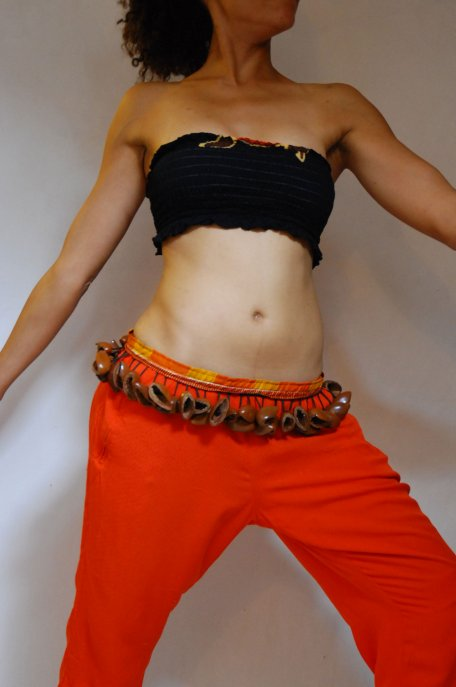 African dance belt - Large Nigeria juju dance belt