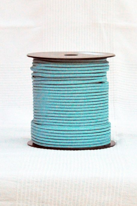 Pastel blue Ø5 mm pre-stretched rope for djembe drum - Djembe rope