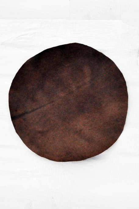 Medium thickness horse skin with hair for djembe drum