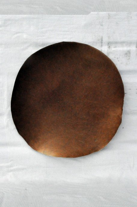 Thin horse skin with hair for djembe drum