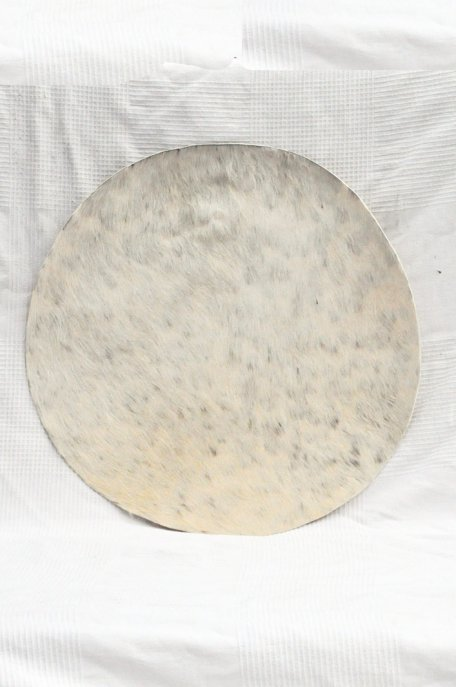 Medium thickness donkey skin with hair for djembe drum