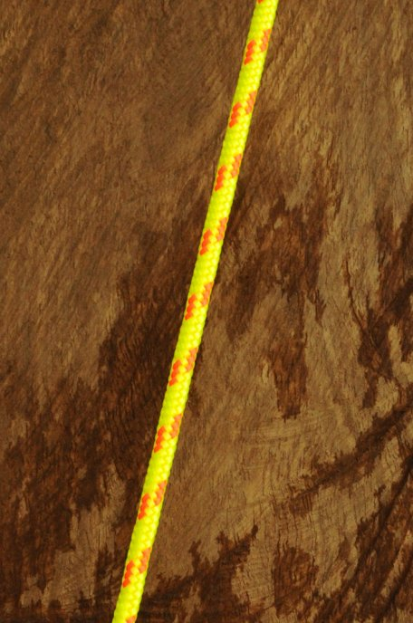 Ø5 mm fluo-yellow / orange alpine rope for djembe drum - Djembe rope