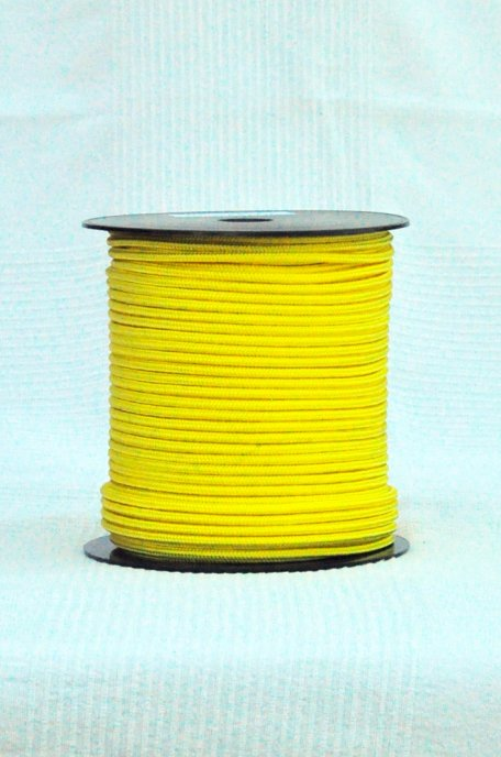 Ø5 mm Sunflower yellow djembe halyard - Pre-stretched rope for djembe drum