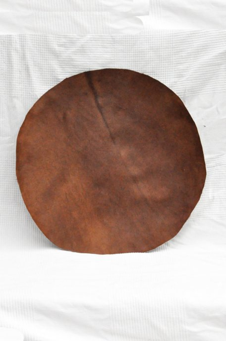 Very thin horse skin with hair for djembe drum