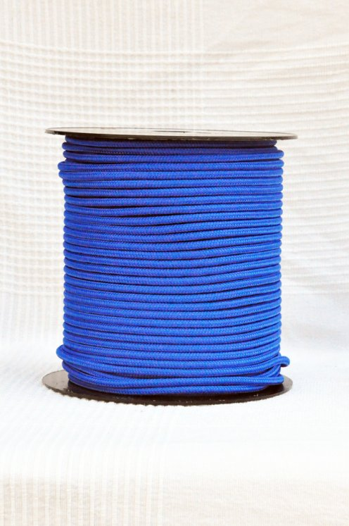 Blue of France Ø5 mm pre-stretched rope for djembe drum - Djembe rope