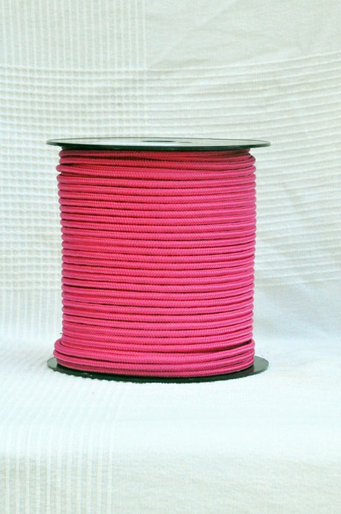 Raspberry Ø5 mm prestretched pre-stretched rope for djembe drum - Djembe rope