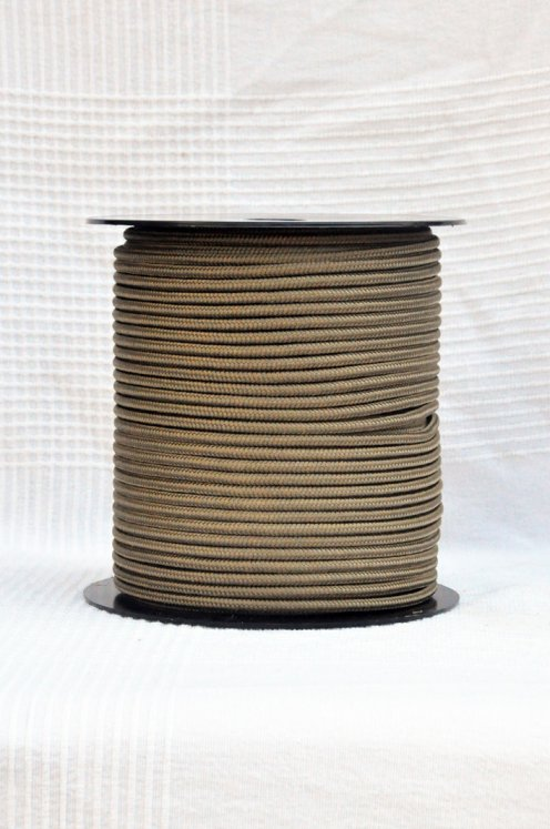 Brass Ø5 mm pre-stretched rope for djembe drum - Djembe rope