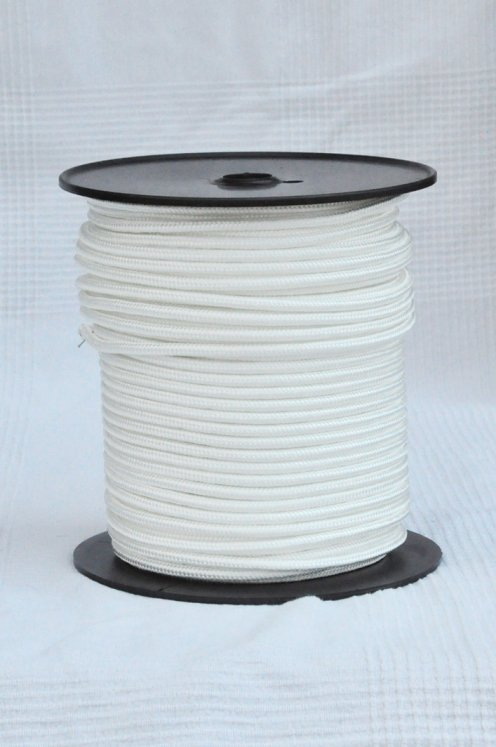 Ecru Ø6 mm pre-stretched rope for djembe drum - Djembe rope