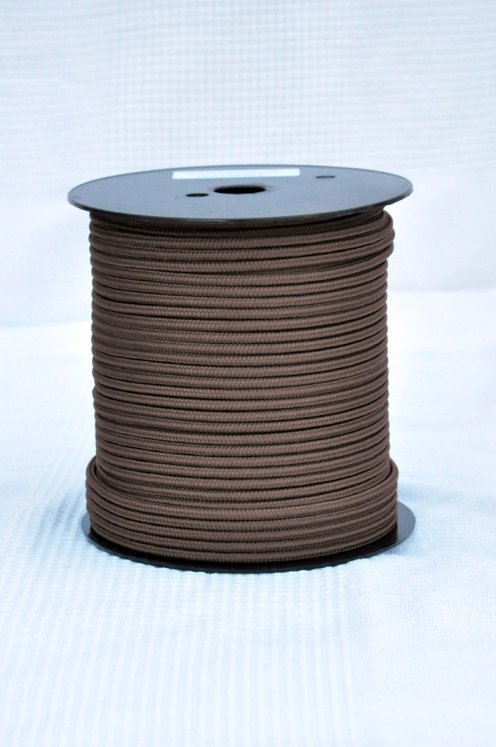 Brown Ø5 mm pre-stretched rope for djembe drum - Djembe rope
