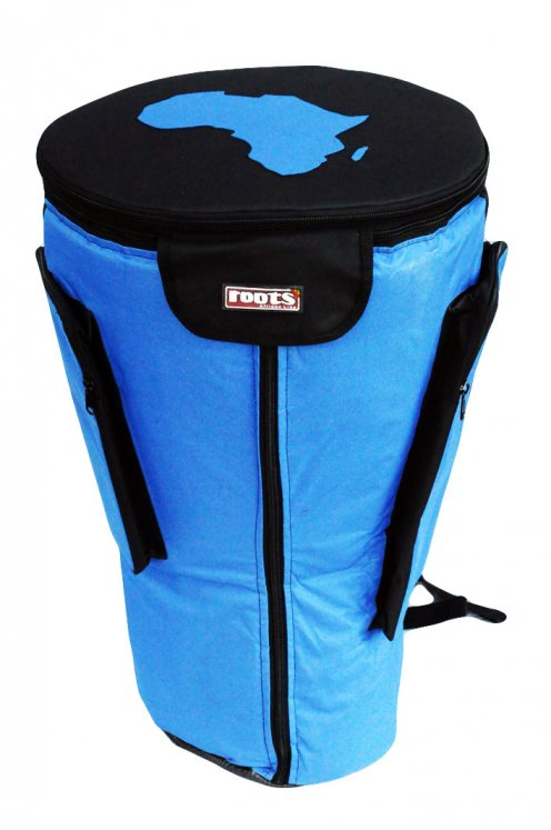 Roots Percussions Premium djembe bag for sale - High end blue bag for large djembe