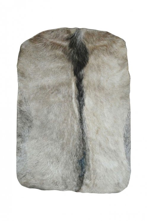Medium thickness goat skin with hair for djembe drum