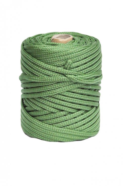 Green Ø6 mm braided rope for djembe drum - Djembe rope