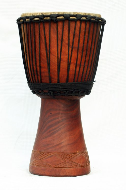 Djembe for sale - Large mahogany Mali djembe drum