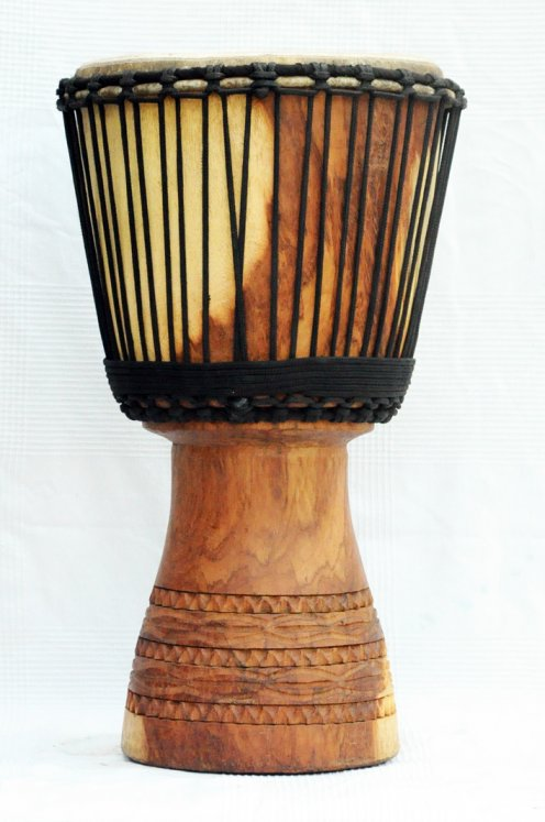 Djembe for sale - Large lingue Mali djembe drum
