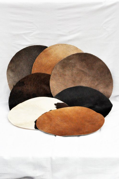 Medium thickness cow skin small for djembe drum percussion - Djembe skin