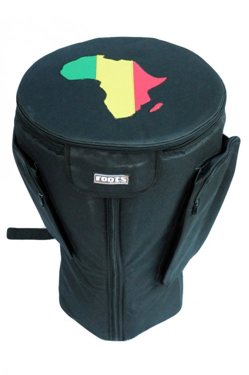 Roots Percussions Premium djembe bag for sale - High end black bag for large djembe