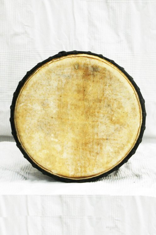 Guinea cow skin djembe - Calf skin, bull skin high end djembe drum