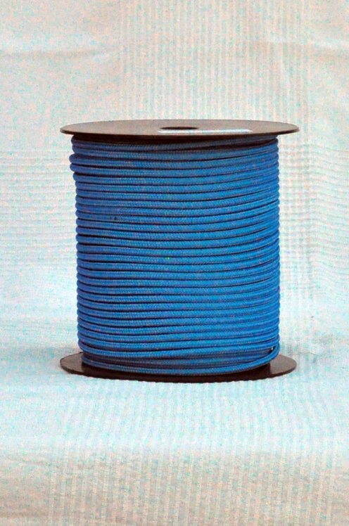 Blue Ø5 mm pre-stretched rope for djembe drum - Djembe rope